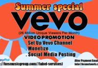 VEVO Channel Video Promotion